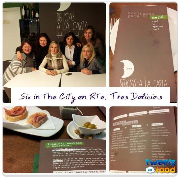 Tweets&Food en Tres Delicias a la carta